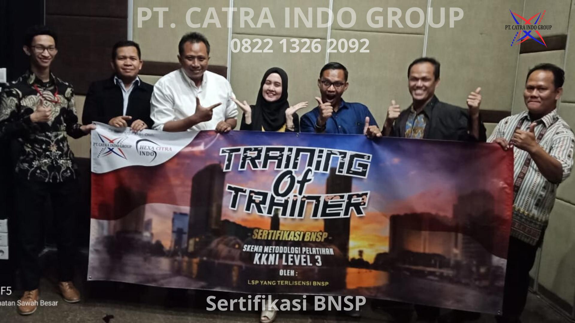 Cara Mendapatkan Sertifikat TOT (Training Of Trainer) Berlisensi BNSP